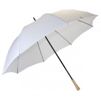 White wedding golf umbrella