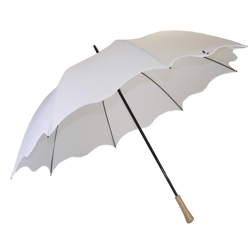 Wedding golf umbrella white wave