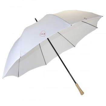 White wedding golf umbrella...