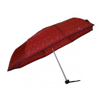 Mini burgundy umbrella with...