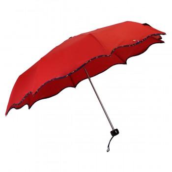 Regenschirm mini wave red...