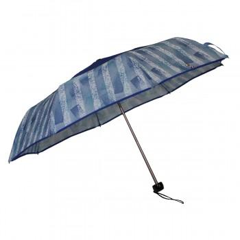 Parapluie mini bleu givrée