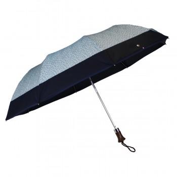 Parapluie pliant bleu pluie