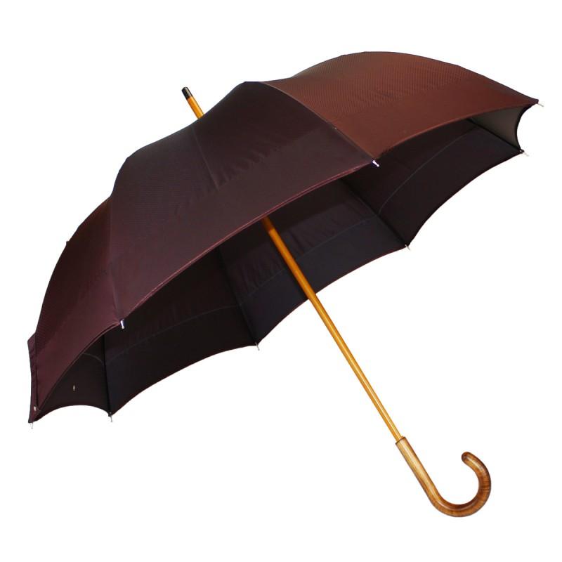 Umbrella half golf woven burgundy