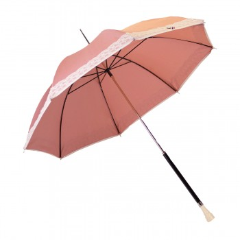 Ombrelle anti UV rose et...