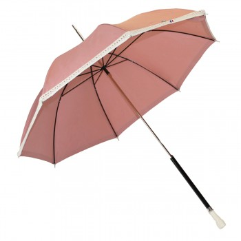 Ombrelle anti UV rose cordage