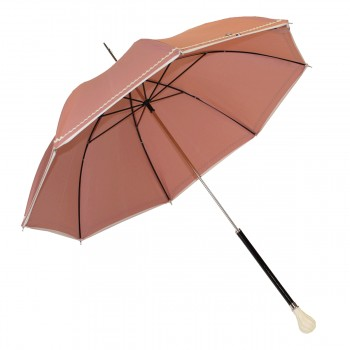 Anti-UV galonnée rosa Schirm
