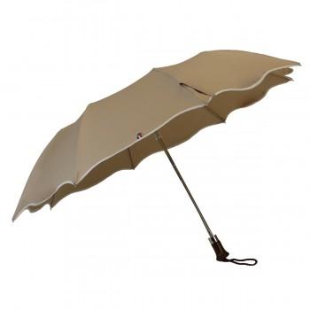Beige folding sunshade anti...