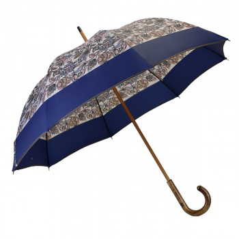 Long floral umbrella with...