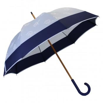 Parapluie long bleu tulipe...