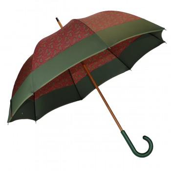 Red cashmere long umbrella...