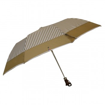 Folding umbrella with beige...