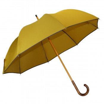 Half-golf mustard umbrella