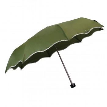 Regenschirm mini wave khaki...