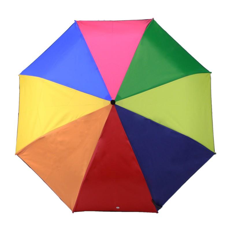 Parapluie Camaïeu multicolore mini léger ouverture manuelle