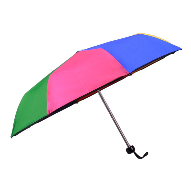 Multicoloured mini monochrome umbrella