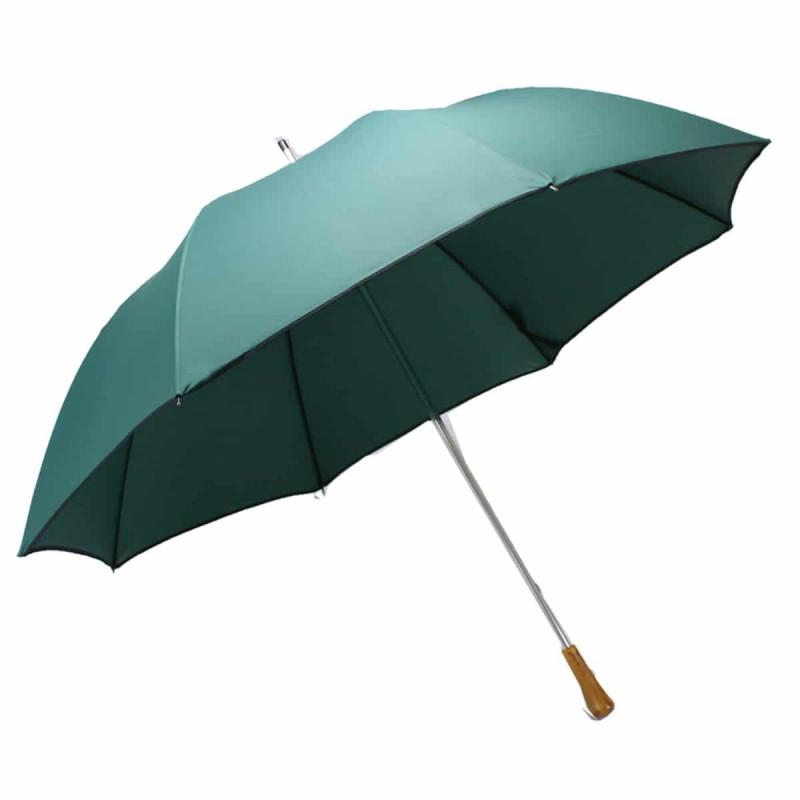 Classic green golf umbrella