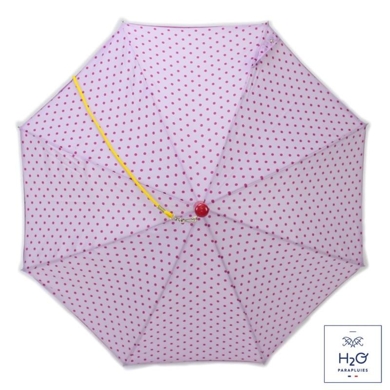Parapluie Enfant rose à pois