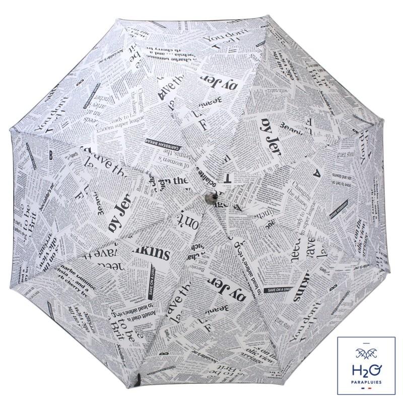 Parapluie Imprimé journal long