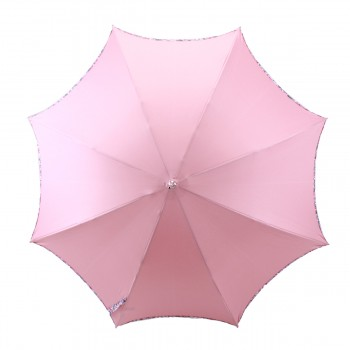 Ombrelle rose anti UV biais effet liberty