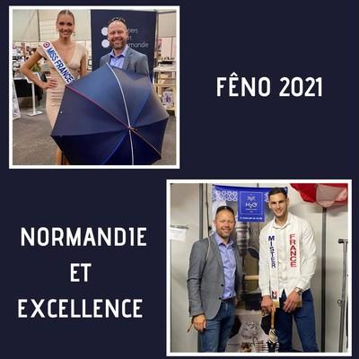 🇫🇷 Évènement 🇫🇷  À l'occasion du Fêno 2021, nous avons eu la chance de rencontrer Miss et Mister France 2021. C'est un honneur pour nous d'avoir partagé quelques instants avec eux.  Nous les remercions chaleureusement.☂️  #parapluies #feno2021 #missfrance #misterfrance #missnormandie #misternormandie
