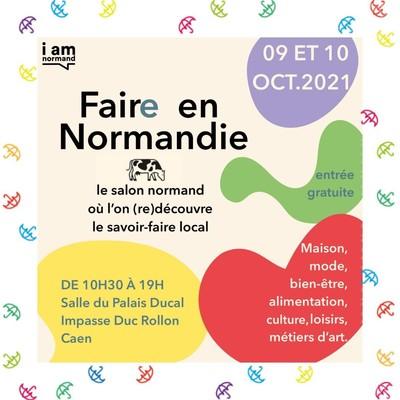 ☂️ SALON ☂️  Nous serons ravis de vous accueillir sur notre stand à l'occasion du salon « I Am Normand » qui se déroulera ce week-end à Caen.  N'hésitez pas venir découvrir nos savoirs-faire locaux.   🗓 : 09 et 10 Octobre 🕒 : 10h30 à 19h00 📍 : Salle du Palais Ducal Impasse Duc Rollon CAEN  #salon #savoirfairenormand #parapluies #iamnormand