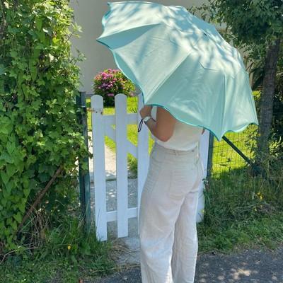 ☂️La boutique☂️  Cette semaine le soleil est parmi nous☀️ Profitez de nos ombrelles pliantes afin de les transporter plus facilement et de les avoir à portée de main pour vos vacances☀️☂️   Vous pouvez les retrouver sur notre site internet   #ombrelle #soleil #madeinfrance #parapluie
